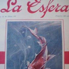 Coleccionismo de Revistas y Periódicos: REVISTA LA ESFERA 12 FEBRERO 1916 GRANADA-LLANES-SEVILLA VER FOTOS. Lote 15298396