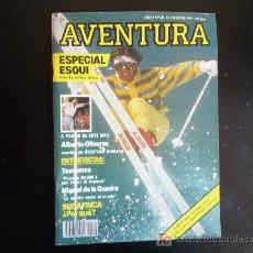 Coleccionismo de Revistas y Periódicos: REVISTA AVENTURA. Nº20 DICIEMBRE 1985. Lote 17388026