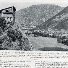 Coleccionismo de Revistas y Periódicos: ANDORRA 1930 RETAL REVISTA. Lote 15761804