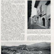 Coleccionismo de Revistas y Periódicos: ESTELLA 1930 HOJA REVISTA. Lote 15762560