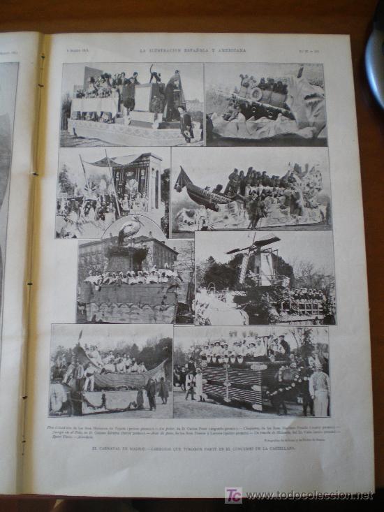 Coleccionismo de Revistas y Periódicos: EL CARNAVAL EN MADRID - Foto 7 - 25663349