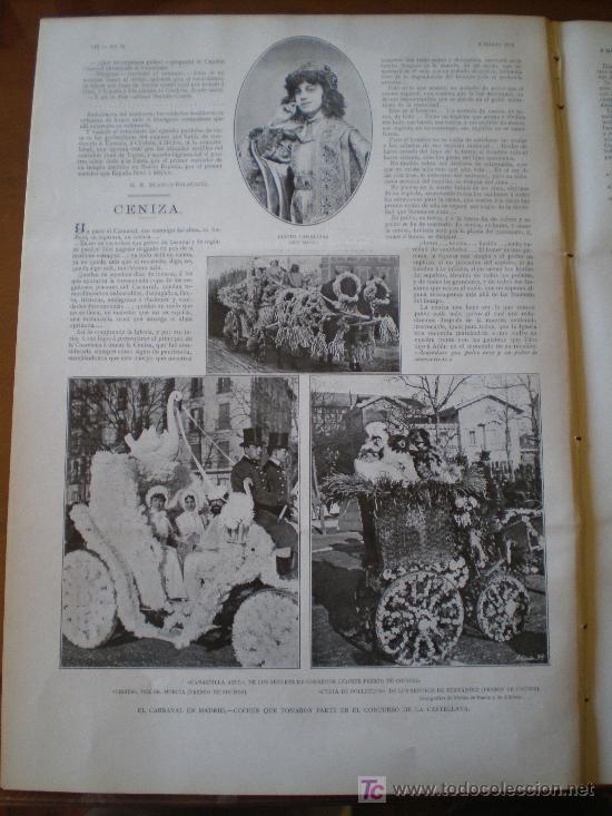 Coleccionismo de Revistas y Periódicos: EL CARNAVAL EN MADRID - Foto 11 - 25663349