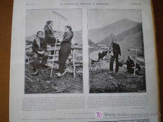 Coleccionismo de Revistas y Periódicos: : EL PANTALON FEMENINO EN SUIZA - Foto 15 - 25663349