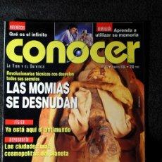 Coleccionismo de Revistas y Periódicos: REVISTA CONOCER, Nº 157, FEBRERO DE 1996. Lote 15815624