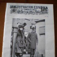 Coleccionismo de Revistas y Periódicos: ILUSTRACION ESPAÑOLA/AMERICANA (22/05/11) MARRUECOS FEZ TANGER ALEMANIA ARQUITECTURA BARCELONA ROMA . Lote 25779233