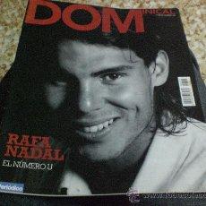 Coleccionismo de Revistas y Periódicos: REVISTA DOMINICAL PORTADA RAFAEL NADAL TENIS. Lote 177295810