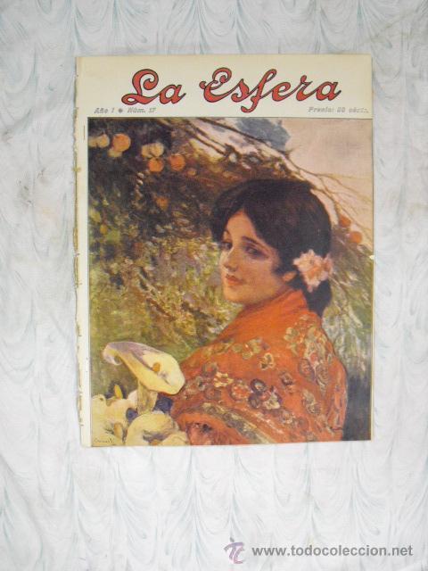 LA ESFERA,Nº 17-25 DE ABRIL 1914 (Coleccionismo - Revistas y Periódicos Antiguos (hasta 1.939))