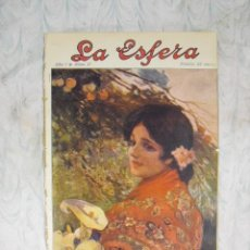 Coleccionismo de Revistas y Periódicos: LA ESFERA,Nº 17-25 DE ABRIL 1914. Lote 15847518