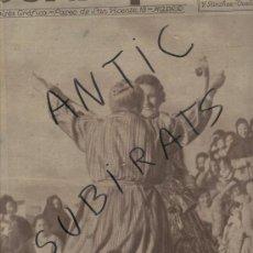Coleccionismo de Revistas y Periódicos: ESTAMPA..1933.IMPERIO ARGENTINA EN LA CARCEL.ORQUESTRINA GERMANS MARI.ARENYS DE MAR. DE MUNT.HOCKEY.. Lote 26945022