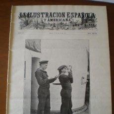 Coleccionismo de Revistas y Periódicos: ILUSTRACION ESPAÑOLA/AMERICANA (22/07/11) SITGES MARRUECOS ARMADA ALEMANIA SCHWARZAU INVENTO. Lote 23905021