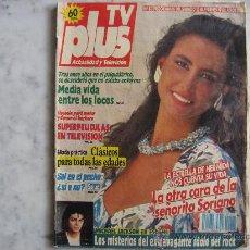 Coleccionismo de Revistas y Periódicos: TV PLUS,PORTADA IRMA SORIANO,REVISTA Nº 83. Lote 18655350