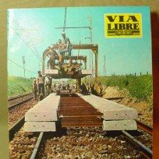Coleccionismo de Revistas y Periódicos: REVISTA FERROVIARIA, VIA LIBRE, Nº 40, DE ABRIL DE 1967, TREN, FERROCARRIL. Lote 16037001