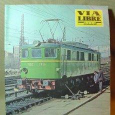 Coleccionismo de Revistas y Periódicos: REVISTA FERROVIARIA, VIA LIBRE, Nº 30, DE JUNIO DE 1966, TREN, FERROCARRIL. Lote 16037002