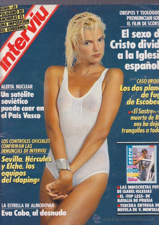 Interviu Eva Cobo Al Desnudo 1988 Sold Through Direct Sale 16154684