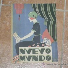 Coleccionismo de Revistas y Periódicos: PERIODICO DE LOS AÑOS 1920 (NUEVO MUNDO) . Lote 27613274