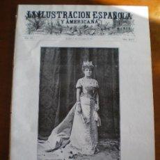Coleccionismo de Revistas y Periódicos: ILUSTRACION ESPAÑOLA/AMERICANA (15/12/11) SUECA VALENCIA MELILLA MALAGA ALCAZARQUIVIR MARRUECOS. Lote 25611368
