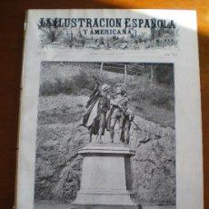Coleccionismo de Revistas y Periódicos: ILUSTRACION ESPAÑOLA/AMERICANA (08/12/11) BRETAÑA MAXIMO PEÑA BARCELONA TANGER MARRUECOS ARGELIA. Lote 25632946