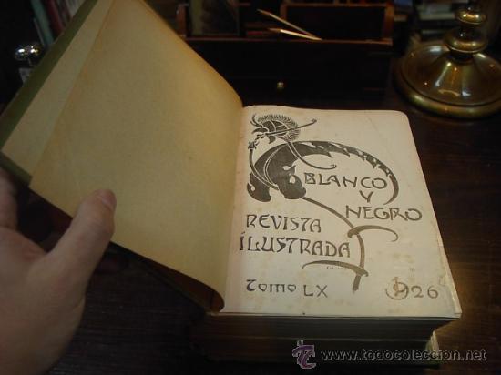Coleccionismo de Revistas y Periódicos: Revista Blanco y Negro, Tomo LX, año 1926 (nº 1820-nº1832), junio 1926 - Foto 3 - 16408636