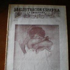 Coleccionismo de Revistas y Periódicos: ILUSTRACION ESPAÑOLA/AMERICANA (30/08/13) IGNACIO PINAZO LARACHE MARRUECOS MELILLA DIRIGIBLE . Lote 23905026