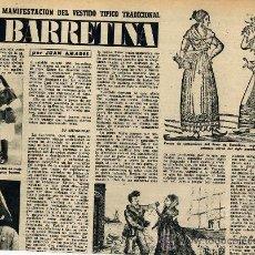 Coleccionismo de Revistas y Periódicos: LA BARRETINA 1953 2 HOJAS REVISTA. Lote 16941506