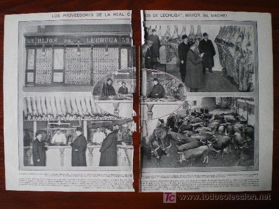 Recorte de prensa 1914 carniceria hijos de le comprar - Carniceria en madrid ...