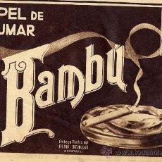Colecionismo de Revistas e Jornais: BAMBU 1936 PAPEL DE FUMAR RETAL REVISTA. Lote 17108608