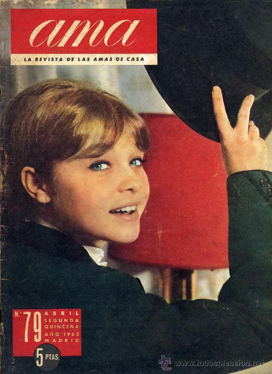 MARISOL 1963 REVISTA AMA ENTREVISTA (Coleccionismo - Revistas y Periódicos Modernos (a partir de 1.940) - Otros)