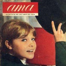 Coleccionismo de Revistas y Periódicos: MARISOL 1963 REVISTA AMA ENTREVISTA . Lote 17139163