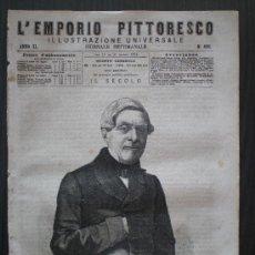 Coleccionismo de Revistas y Periódicos: EMPORIO PITTORESCO Nº 498 DE 15-21/03/1874 (GUERRA CARLISTA - BILBAO -VIZCAYA). Lote 22089789