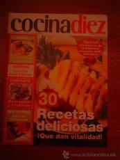 Cocina Diez Revista   Revista Cocina Diez Suplemento Del Nº 160 De C Comprar Otras