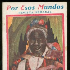 Coleccionismo de Revistas y Periódicos: POR ESOS MUNDOS. REVISTA SEMANAL. JUNIO 1926. Nº 25.. Lote 17318289