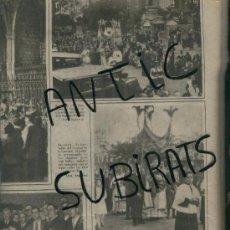 Coleccionismo de Revistas y Periódicos: LA VANGUARDIA.28-05-1932.28-05-1932. CORPUS EN LA SAGRADA FAMILIA. GAUDI.L' OU COM BALLA. . Lote 17345422