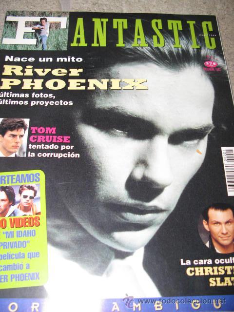 RIVER PHOENIX EN LA REVISTA FANTASTIC TOM CRUISE (Coleccionismo - Revistas y Periódicos Modernos (a partir de 1.940) - Otros)