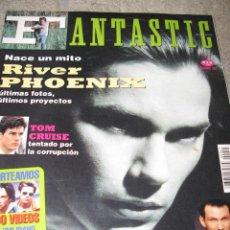 Coleccionismo de Revistas y Periódicos: RIVER PHOENIX EN LA REVISTA FANTASTIC TOM CRUISE. Lote 51018390