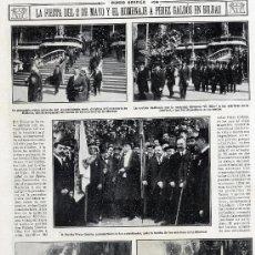 Coleccionismo de Revistas y Periódicos: PEREZ GALDOS 1916 BILBAO HOMENAJE HOJA REVISTA. Lote 17506820