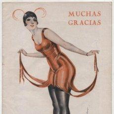 Coleccionismo de Revistas y Periódicos: MUCHAS GRACIAS Nº 215. AÑO 1928. REVISTA COMICO - SATÍRICA.. Lote 17559570