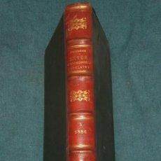 Coleccionismo de Revistas y Periódicos: REVUE D'ASTRONOMIE POPULAIRE , DE MÉTÉOROLOGIE ET DE PHYSIQUE DU GLOBE...(EN FRANCÉS,1887). Lote 26619214