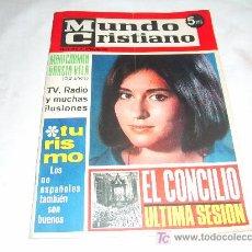 Coleccionismo de Revistas y Periódicos: MUNDO CRISTIANO Nº 32: MARI CARMEN GARCIA VELA.MANOLO SANTANA.ROSALIA GARRIDO. Lote 17823916