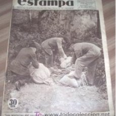 Coleccionismo de Revistas y Periódicos - REVISTA ESTAMPA Nº 352 DE 1934 - LOS MISTERIOS DEL CONTRABANDO DE ARMAS - 17820524