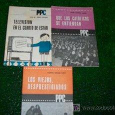 Coleccionismo de Revistas y Periódicos: FOLLETOS PROPAGANDA POPULAR CATOLICA -PPC-1966-15PAG-12X17CM-. Lote 18062861
