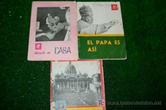 FOLLETOS PROPAGANDA POPULAR CATOLICA -1959-1962-15PAG-12X17 (Coleccionismo - Revistas y Periódicos Modernos (a partir de 1.940) - Otros)