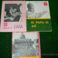 Coleccionismo de Revistas y Periódicos: FOLLETOS PROPAGANDA POPULAR CATOLICA -1959-1962-15PAG-12X17. Lote 18062994