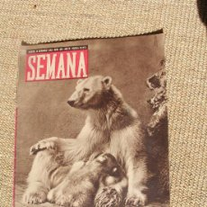 Coleccionismo de Revistas y Periódicos: REVISTA SEMANA , 14 DICIEMBRE 1943 NÚM 199 AÑO IV.. Lote 26946532