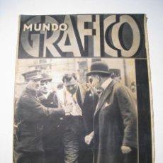 Coleccionismo de Revistas y Periódicos: MUNDO GRAFICO ESPECIAL ATENTADO PRESIDENTE FRANCIA 1932. Lote 17913251
