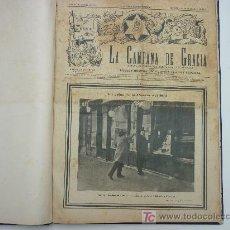 Coleccionismo de Revistas y Periódicos: LA CAMPANA DE GRACIA - TOMO ENCUADERNADO CON 69 REVISTAS - PUBLICADAS EN LOS AÑOS 1912 AL 1925.. Lote 26647135