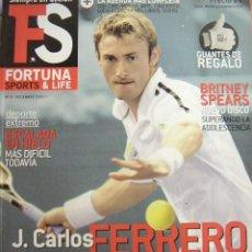 Coleccionismo de Revistas y Periódicos: REVISTA FORTUNA SPORTS & LIFE Nº 8, DICIEMBRE 2003. J. CARLOS FERRERO. ESCALADA EN HIELO,..... Lote 18044252