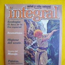 Coleccionismo de Revistas y Periódicos: INTEGRAL. REVISTA MENSUAL. Nº 9 FEBRERO 1980. Lote 194550375