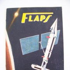 Coleccionismo de Revistas y Periódicos: FLAPS, REVISTA JUVENIL DE DIVULGACION AERONAUTICA, QUINCENAL, AÑO II-Nº10, 1961 . Lote 25690507