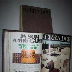 Coleccionismo de Revistas y Periódicos: REVISTA SERRA D'OR – ANYS 1975 I 1976. Lote 25241407