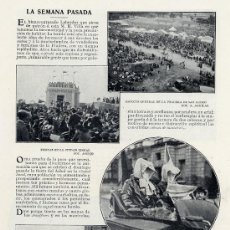 Coleccionismo de Revistas y Periódicos: MADRID 1903 CIUDAD LINEAL HOJA REVISTA. Lote 18511616